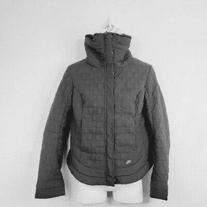 Nike Womens Insulated Fur Lined Winter Jacket